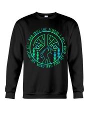 Into The Forest Bigfoot Crewneck Sweatshirt thumbnail