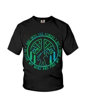 Into The Forest Bigfoot Youth T-Shirt thumbnail