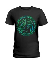 Into The Forest Bigfoot Ladies T-Shirt thumbnail