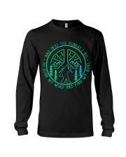 Into The Forest Bigfoot Long Sleeve Tee thumbnail