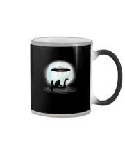Bigfoot and mermaid UFO under the moon Color Changing Mug thumbnail