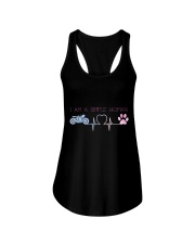 Motorcycle Dog Simple Woman Ladies Flowy Tank thumbnail