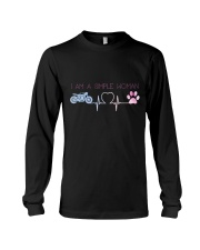 Motorcycle Dog Simple Woman Long Sleeve Tee thumbnail