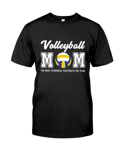 Stressful volleyball mom