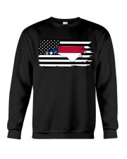 American and North Carolina map 9993 0037 Crewneck Sweatshirt thumbnail