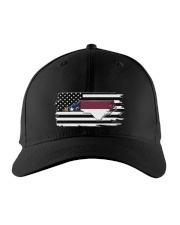 American and North Carolina map 9993 0037 Embroidered Hat front
