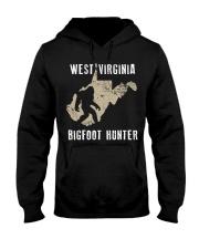 West Virginia Bigfoot Hunter Hooded Sweatshirt front