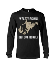 West Virginia Bigfoot Hunter Long Sleeve Tee thumbnail