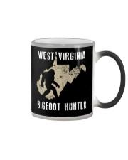 West Virginia Bigfoot Hunter Color Changing Mug thumbnail