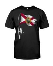 Fishing rod Florida 0037 Classic T-Shirt front