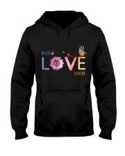 Love Teach Hooded Sweatshirt thumbnail