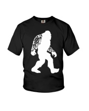 Tattoo Bigfoot Youth T-Shirt thumbnail