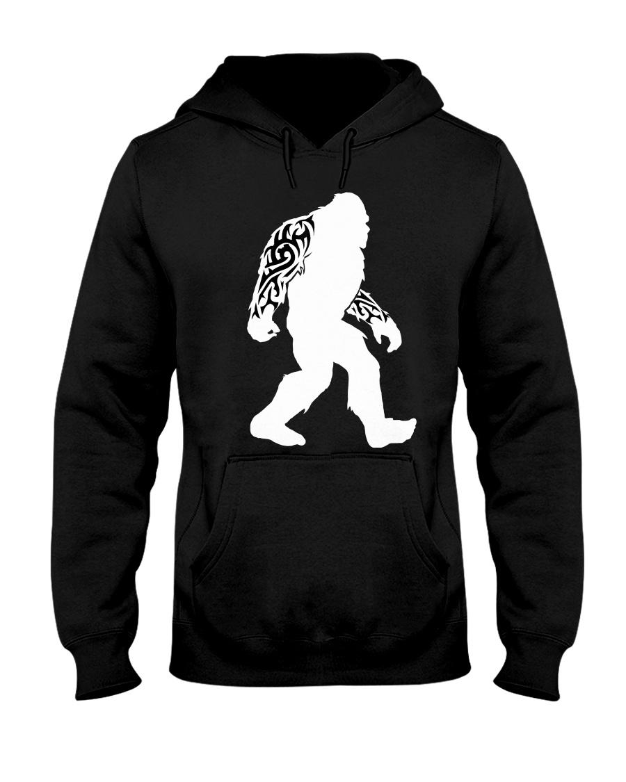 Tattoo Bigfoot Hooded Sweatshirt