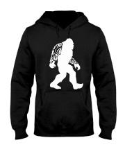 Tattoo Bigfoot Hooded Sweatshirt front