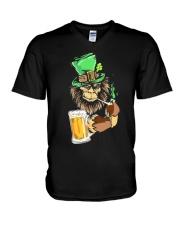 Bigfoot Beer Patrick Day V-Neck T-Shirt thumbnail