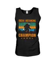 Social distancing champion Unisex Tank thumbnail
