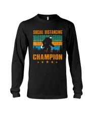 Social distancing champion Long Sleeve Tee thumbnail