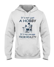 It's not just a hobby - Quilting Hooded Sweatshirt thumbnail