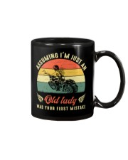 Assuming i'm just an old lady your first mistake Mug thumbnail