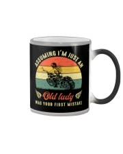 Assuming i'm just an old lady your first mistake Color Changing Mug thumbnail