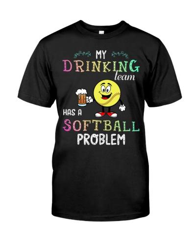 My drinking team has a softball problem