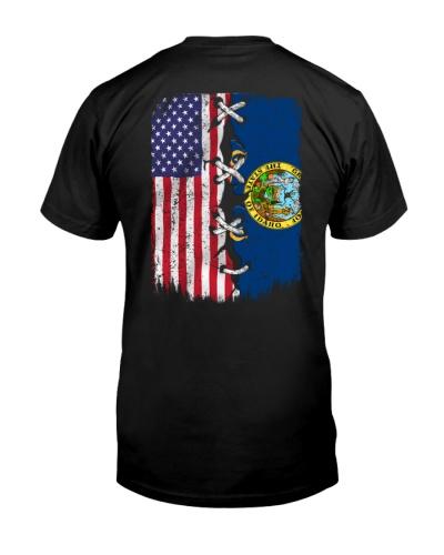 Idaho and American flag 0037