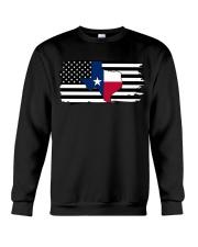 American and Texas map 9993 0037 Crewneck Sweatshirt thumbnail