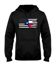 American and Texas map 9993 0037 Hooded Sweatshirt thumbnail