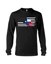 American and Texas map 9993 0037 Long Sleeve Tee thumbnail