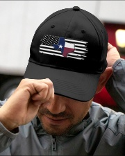 American and Texas map 9993 0037 Embroidered Hat garment-embroidery-hat-lifestyle-01