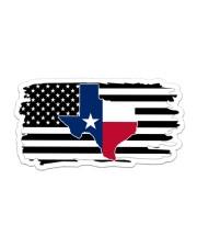 American and Texas map 9993 0037 Sticker - Single (Horizontal) thumbnail