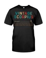 Vintage Scorpius Classic T-Shirt thumbnail