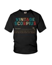 Vintage Scorpius Youth T-Shirt thumbnail