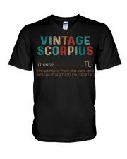 Vintage Scorpius V-Neck T-Shirt thumbnail