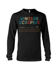 Vintage Scorpius Long Sleeve Tee thumbnail