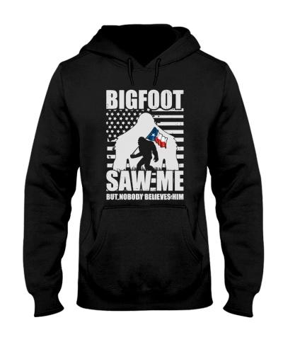 Bigfoot saw me but nobody believes him - Texas