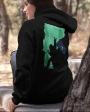 Vermont - Bigfoot Flag 2 sides Hooded Sweatshirt apparel-hooded-sweatshirt-lifestyle-06