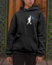 Vermont - Bigfoot Flag 2 sides Hooded Sweatshirt apparel-hooded-sweatshirt-lifestyle-front-03