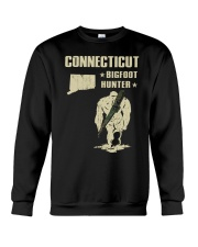 Connecticut - Bigfoot hunter Crewneck Sweatshirt thumbnail