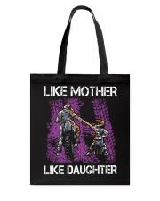 Like mother like daughter motorcross Tote Bag thumbnail