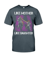 Like mother like daughter motorcross Classic T-Shirt thumbnail