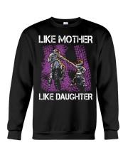 Like mother like daughter motorcross Crewneck Sweatshirt thumbnail