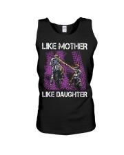 Like mother like daughter motorcross Unisex Tank thumbnail