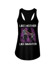Like mother like daughter motorcross Ladies Flowy Tank thumbnail
