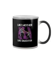 Like mother like daughter motorcross Color Changing Mug thumbnail