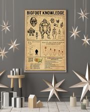 Bigfoot knowledge poster 24x36 Poster lifestyle-holiday-poster-1
