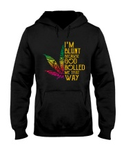God rolled me that way weed - Year end sale Hooded Sweatshirt thumbnail