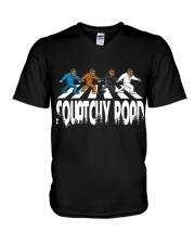 Squatchy Road sale V-Neck T-Shirt thumbnail