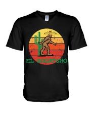 Bigfoot el squatcho V-Neck T-Shirt thumbnail