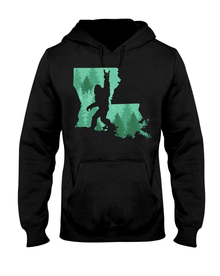 Bigfoot - Louisiana Hooded Sweatshirt